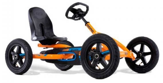 Berg Buddy B-orange Kids Go Kart