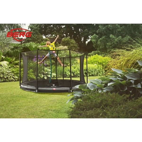 Berg Inground Favorit Trampoline 430 Grey