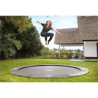 Its a well known fact that trampolining is great for your health! The Berg Flatground Champion Trampoline Grey 330 is great for helping to lose weight and become fitter or just to spend having hours of fun jumping!