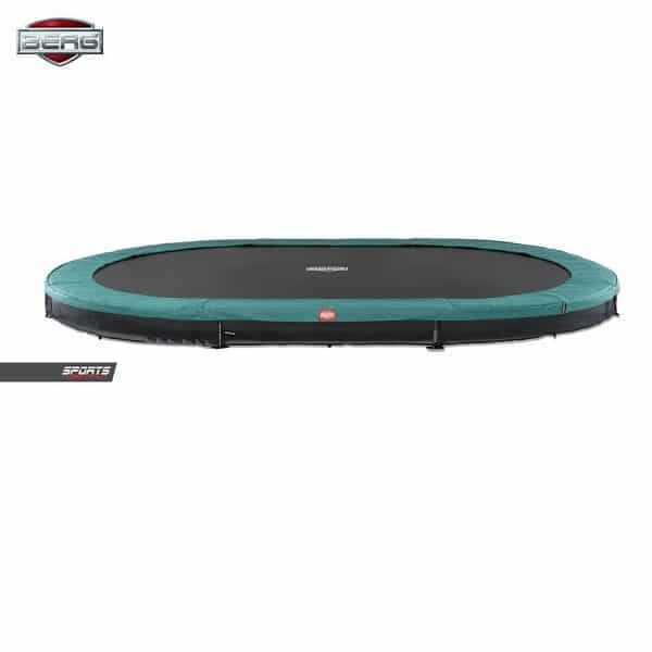 Berg Grand Favorit 520 Inground Trampoline Green