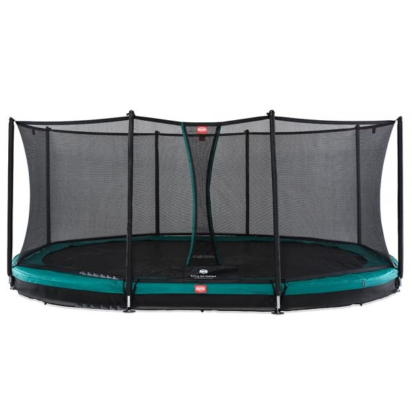 Berg Grand Favorit 520 Inground Trampoline Grey