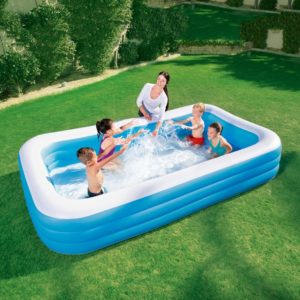 Bestway Deluxe 10ft Family Swimming Pool