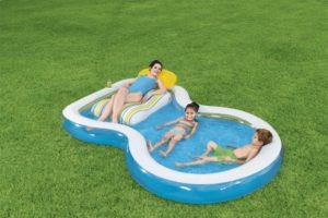 Bestway 54168 Inflatable Pool Staycation Pool