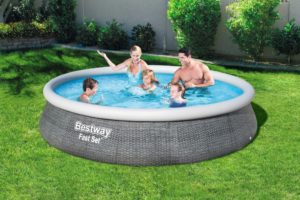 Bestway 57376 13ft Fast Set Swimming Pool