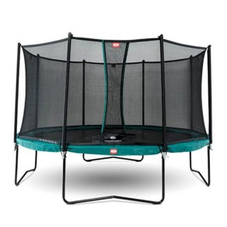 Berg Champion Green 380 Trampoline with Net Comfort