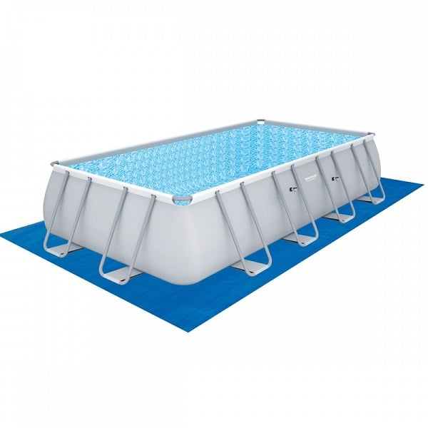 Bestway 56465 Power Stl Frame Pool Set 18′ X 9′ X 48″