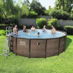 Bestway 16ft Power Steel Deluxe Swimming Pool Set