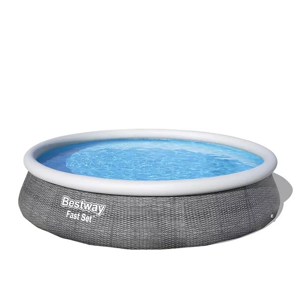 Bestway 57376 13ft X 33″ Round Fast Set Above Ground Swimming Pool & Filter Pump