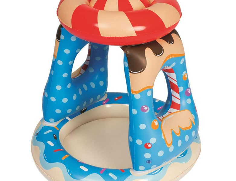 Bestway Candyville Shaded Paddling Pool