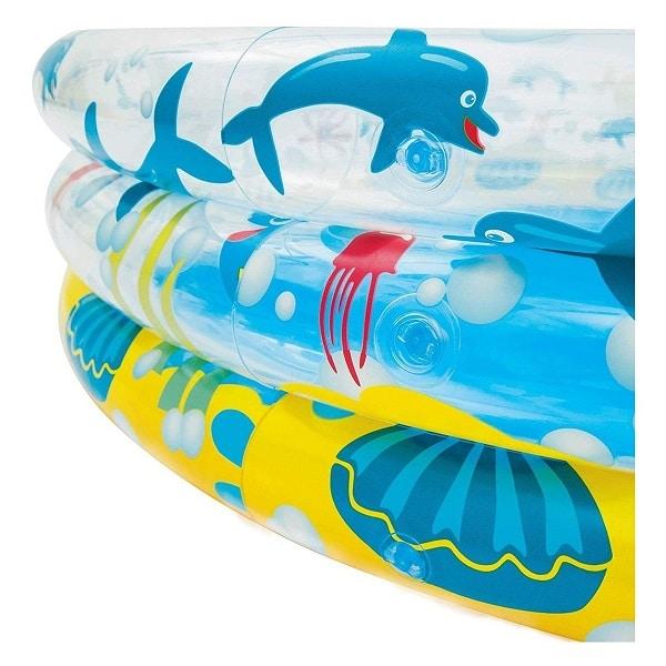 Bestway Deep Dive 3-ring Paddling Pool