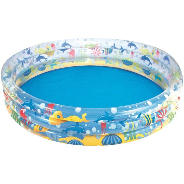Bestway Deep Dive 3-ring Paddling Pool