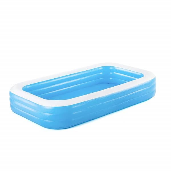 Bestway Deluxe Rectangular Family Pool 10′ X 6′ X 22″ (54009)