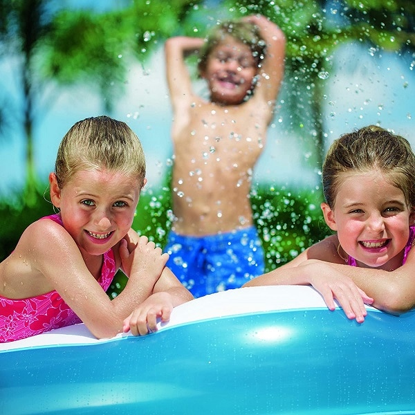 Bestway Deluxe Rectangular Family Pool 9′ X 6′ X 20″ 54006