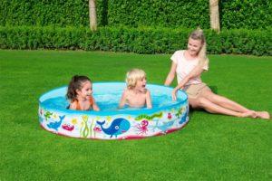 Bestway 55029 Under Water Fill N Fun Paddling Pool