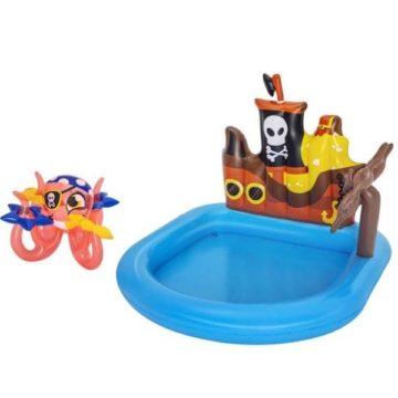 Bestway 52211 Pirate Ship Inflatable Kids Paddling Pool