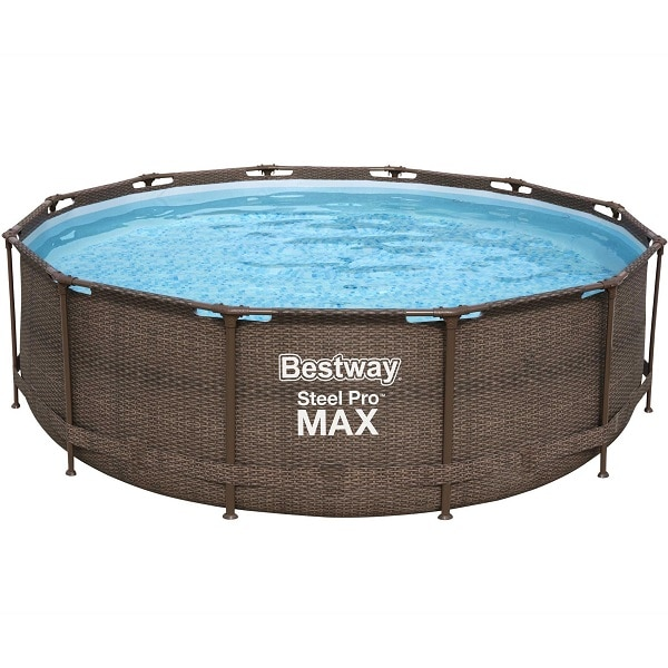 Bestway 12ft Steel Pro Deluxe Swimming Pool Set
