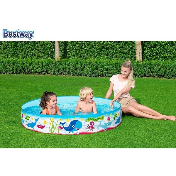 Bestway Under Water Fill N Fun Paddling Pool