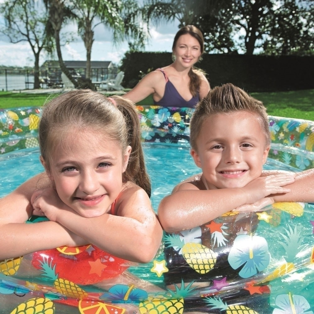 67″x21″ Tropical Play Pool 51048