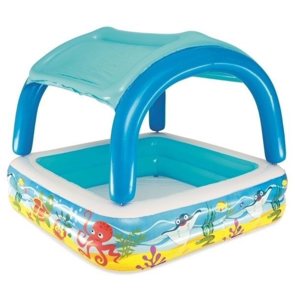58″x58″x48″ Canopy Play Pool 52192