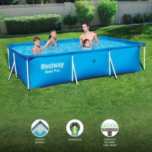 Bestway 56404 9ft 10in Steel Pro Swimming Pool