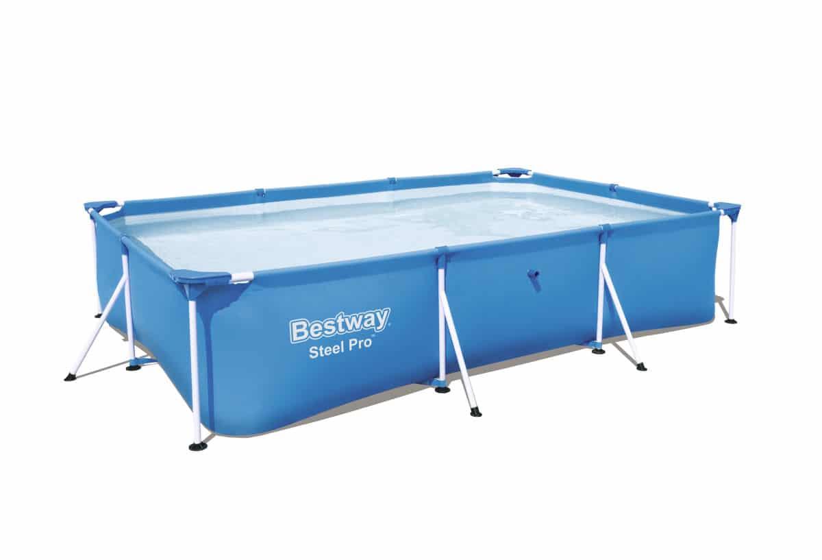 Steel Pro Pool 300 X 201 X 66cm Steel Frame Garden Swimming Pool