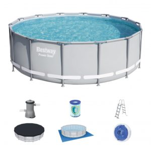 Bestway 14ft Power Steel Framed Swimming Pool