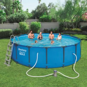 Bestway 15ft Steel Pro Swimming Pool Set