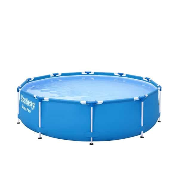 Steel Pro Metal Frame Round Pool – 56408 – 10ft X 30in By Bestway