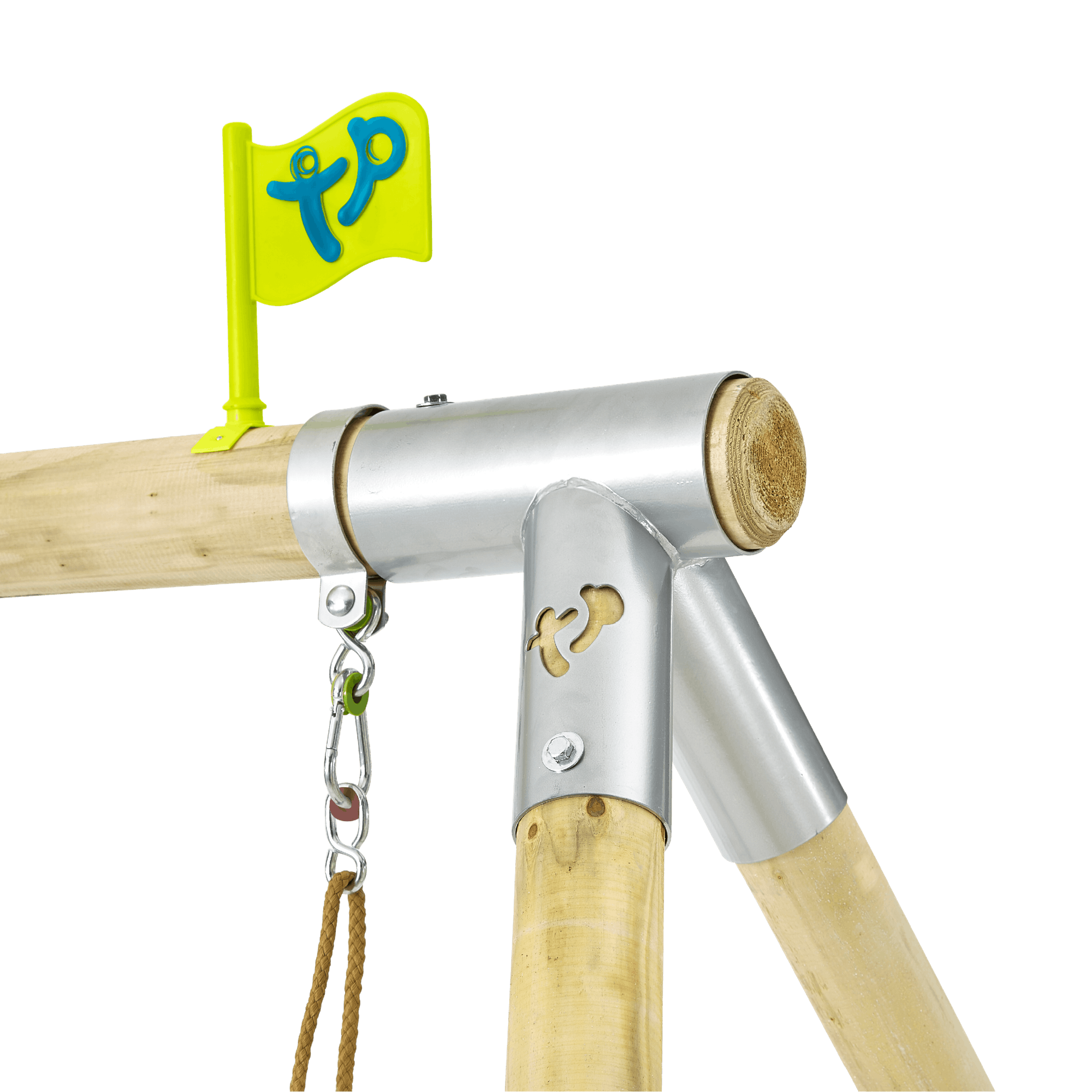 Tp Knightswood Tours Wooden Swing Set-fsc?