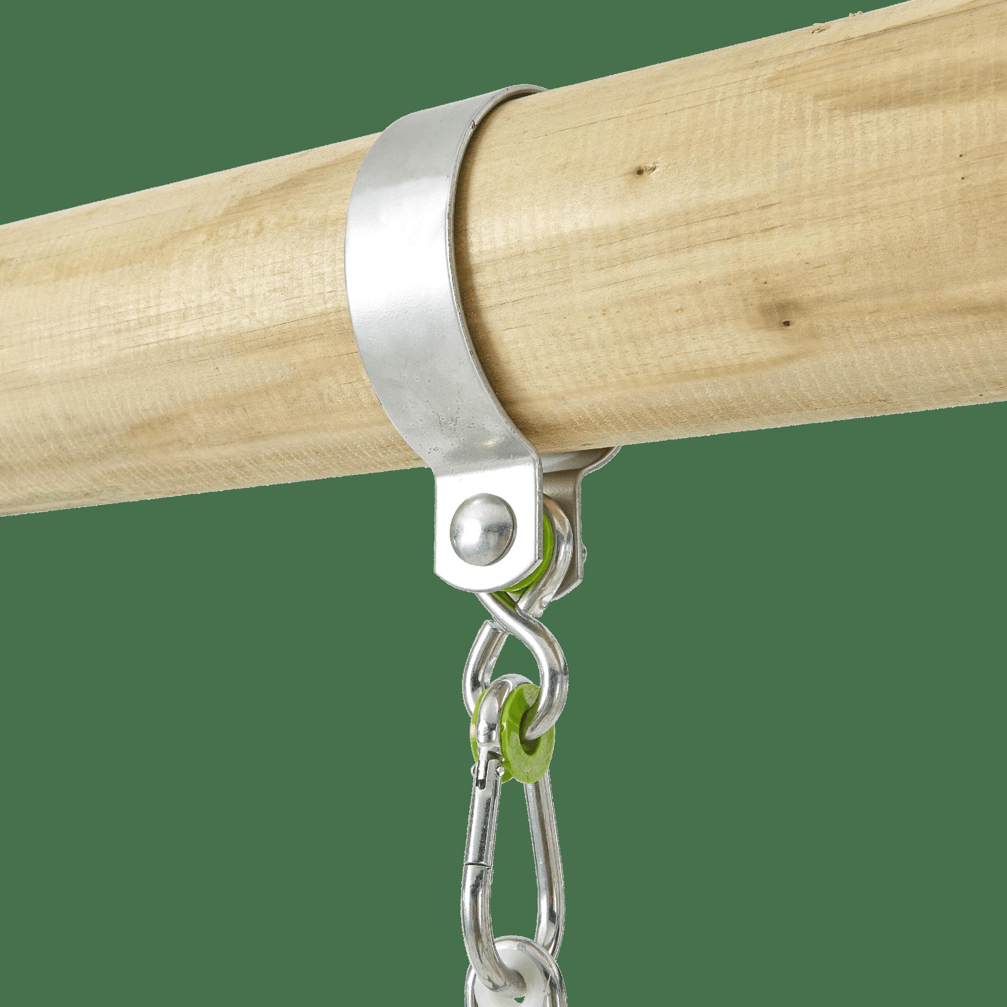 Tp Knightswood Wooden Single & Deck Swing Frame-fsc?