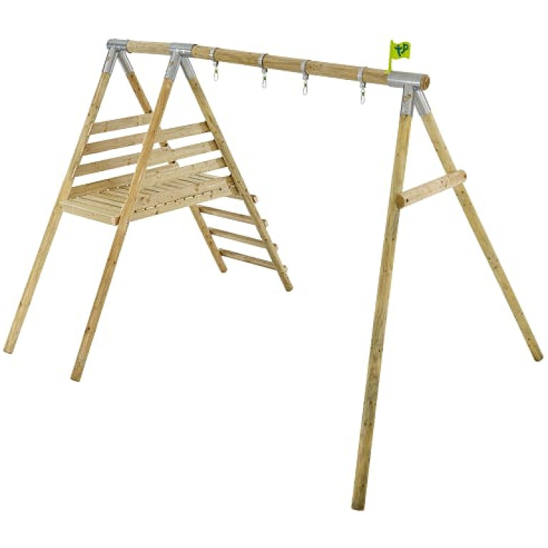 Tp Knightswood Wooden Double & Deck Swing Frame-fsc?