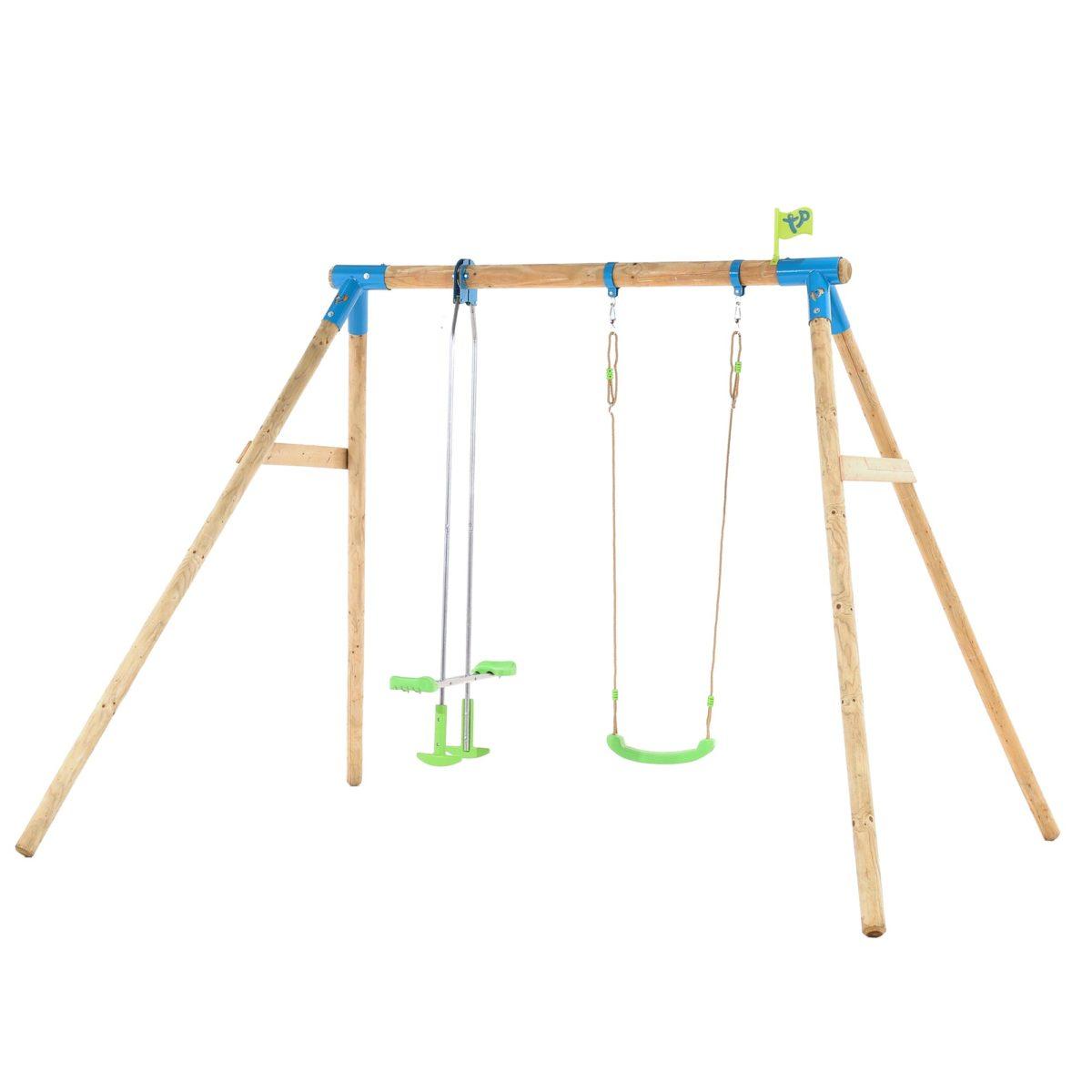 Tp Nagano Wooden Double Swing Set-fsc?