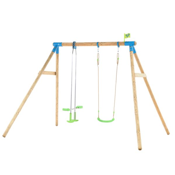Tp Nagano Wooden Double Swing Set-fsc?