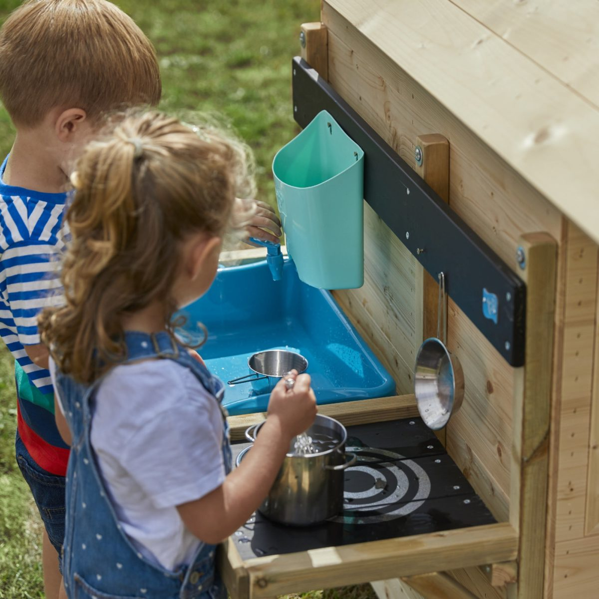 Tp Deluxe Mud Kitchen Playhouse Accessory-fsc?