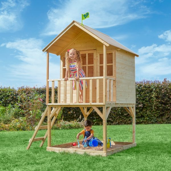 Tp Hill Top Wooden Tower Playhouse-fsc?