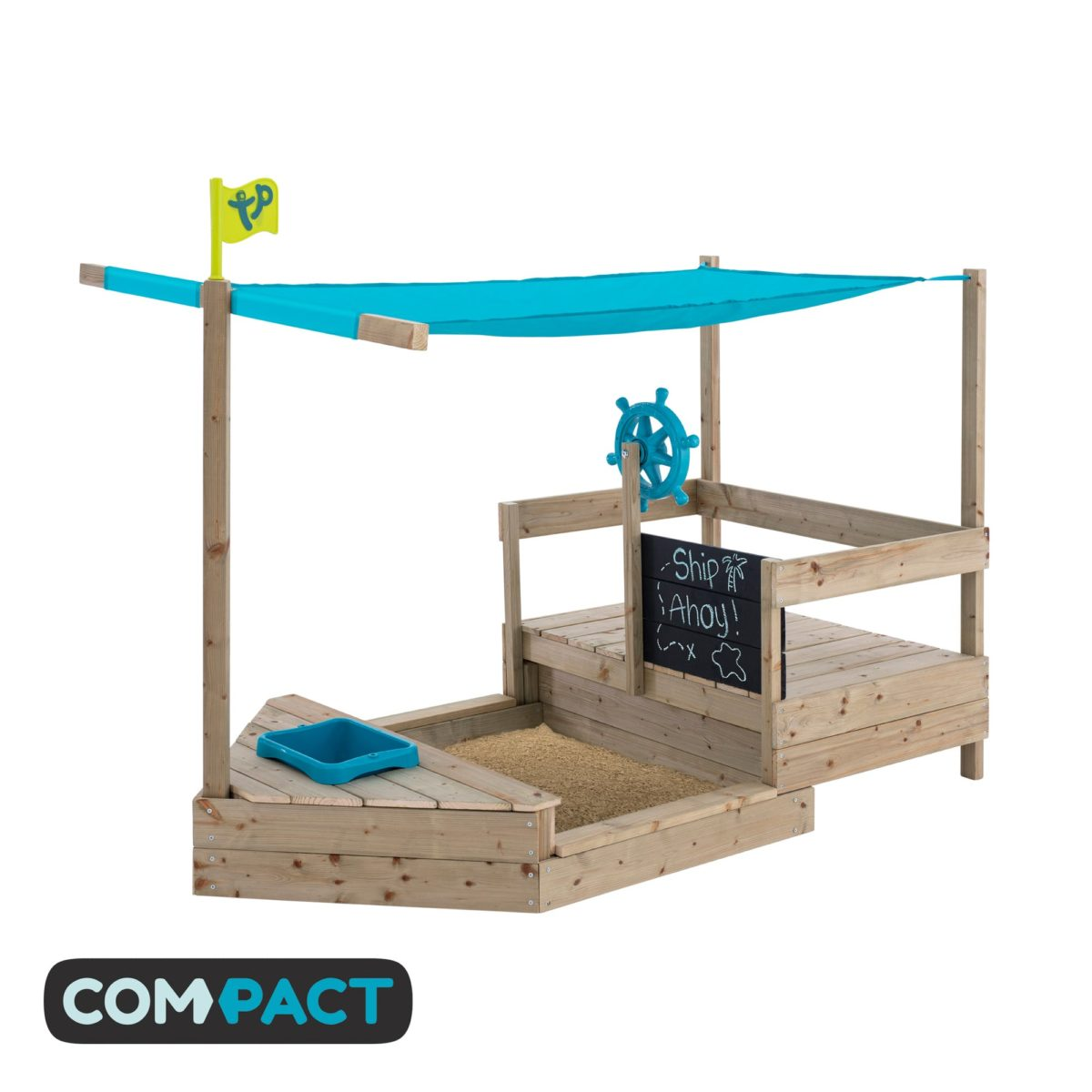 Tp Ahoy Wooden Play Boat – Fsc? Certified