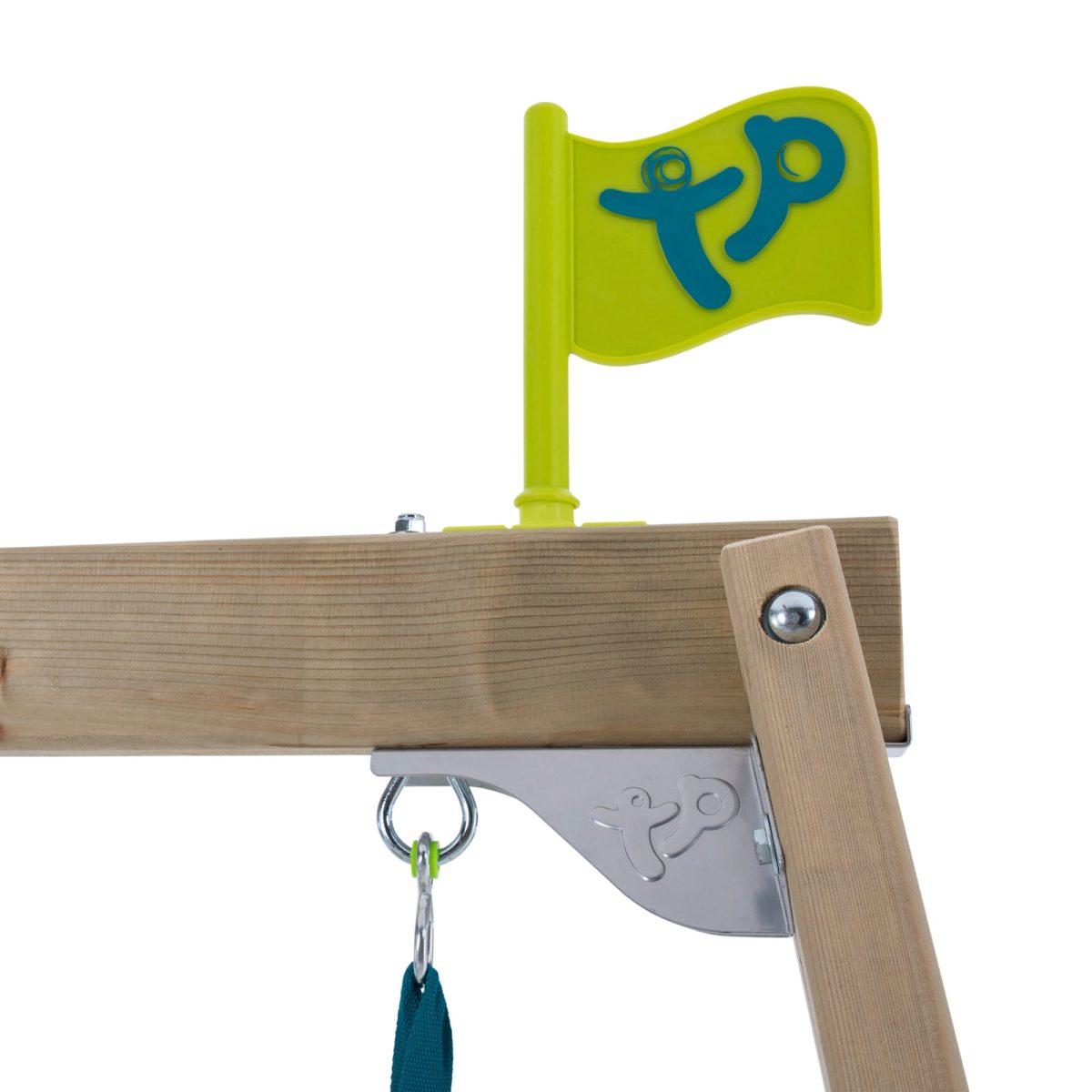Tp Castlewood Ludlow Wooden Single Swing Set & Slide – Fsc?