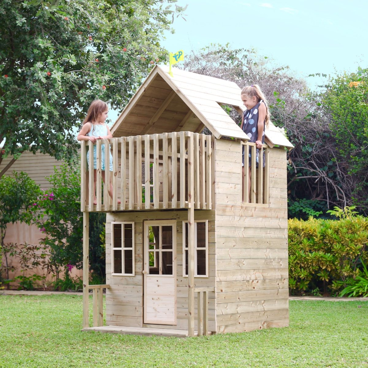 Tp Loft Wooden Playhouse-fsc?