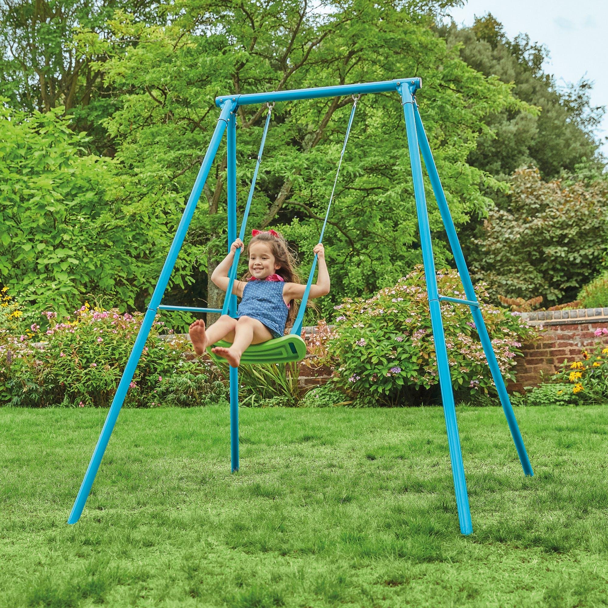 Tp Single Metal Swing Set