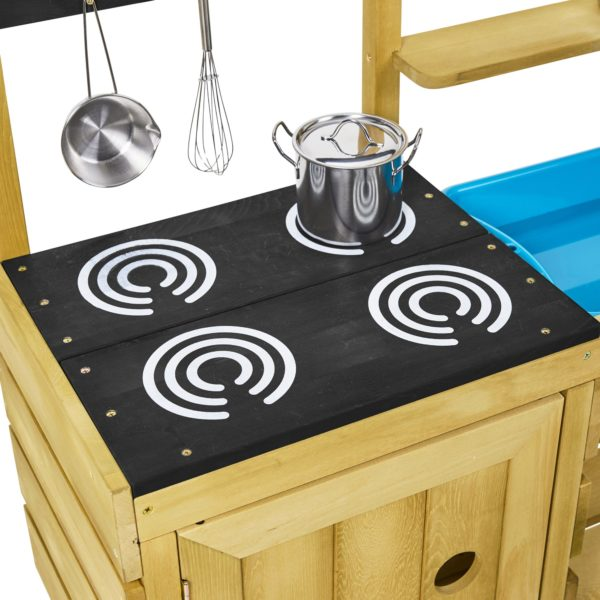 Tp Junior Chef Wooden Mud Kitchen – Fsc? Certified