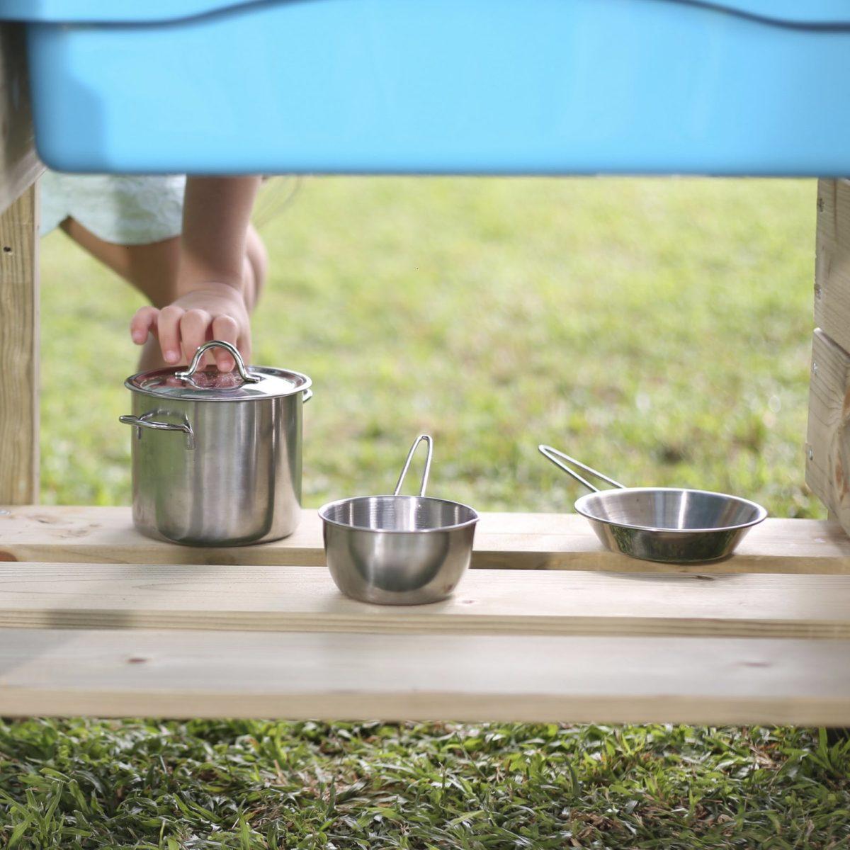 Tp Junior Chef Wooden Mud Kitchen – Fsc? Certified