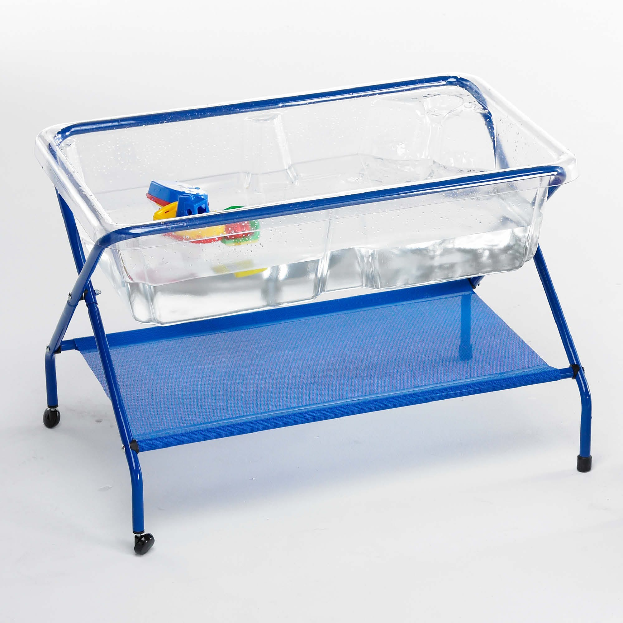 Clear Rockface Sand And Water Tray With Stand