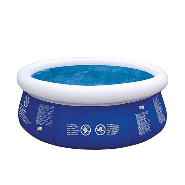 8ft Round Inflatable Fast Set Swimming Pool