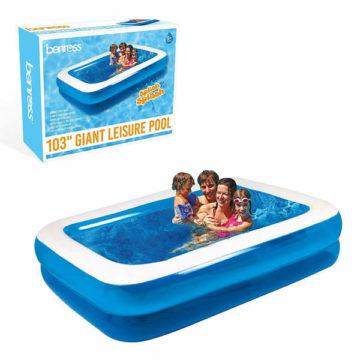 Benross 8ft5 Rectangular Inflatable Paddling Pool