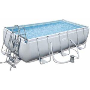 Bestway Steel Rectangular Frame Pool 13ft 3in