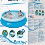Bestway 57273NP 12Ft Fast Set Pool