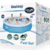 Bestway 57268 8ft Round Inflatable Fast Set Pool