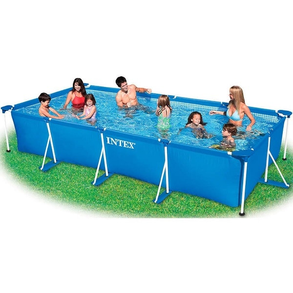 Intex 15ft Rectangular Framed Pool Above Ground