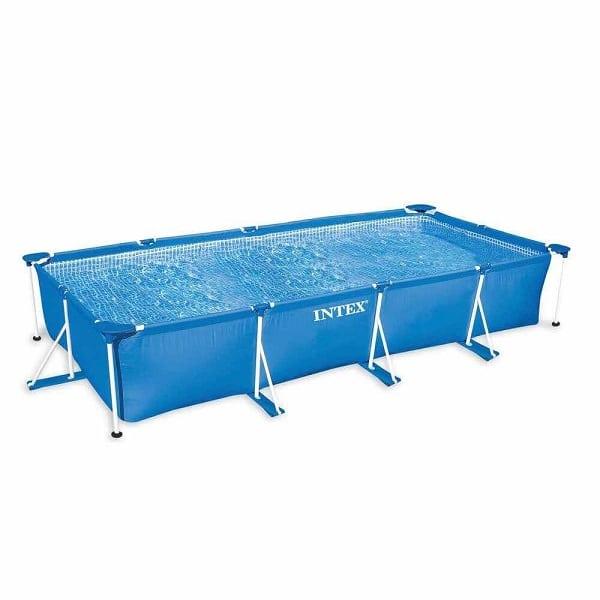 Intex 15ft Rectangular Framed Pool Above Ground