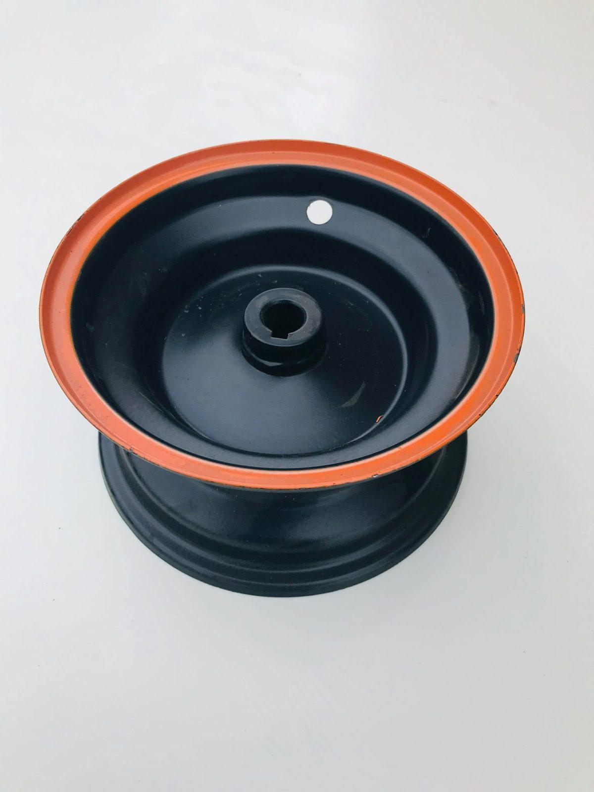 6″ Mini Quad Bike Rear Wheel Rim With Tubeless Tyre 4.10-6 – Orange